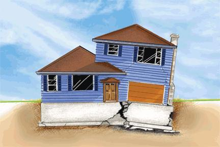 Image gallery house foundation cartoon for House foundations