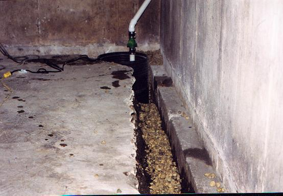 Interior Drain Systems Basement Waterproofing. Interior Drain Tile Vs  Exterior Drain Tile Which System Is Better