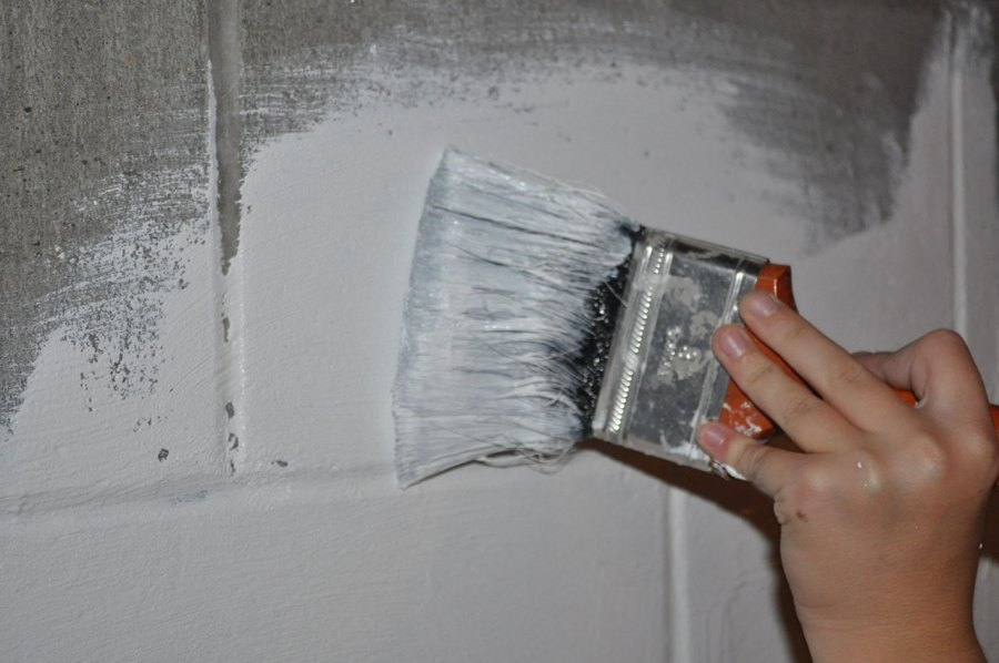 is waterproofing paint a good basement waterproofing material