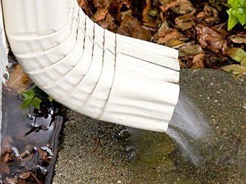Cropped Downspout