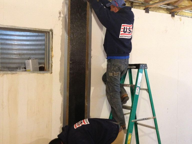 Structural Foundation Repair -- Carbon Fiber vs. Wall Anchors