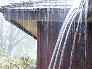 Clogged Gutters? Clean up this Fall to Prevent Basement Seepage