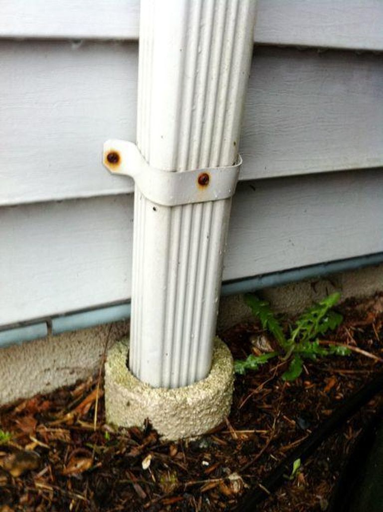 Extending Downspouts Underground – Beware the… | U S