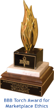 Better Business Bureau Torch Award for Marketplace Ethics
